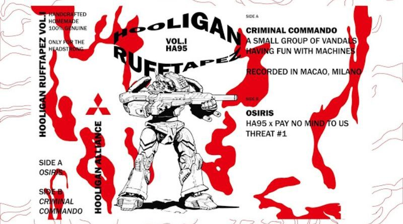 THREAT#1: Osiris - Hooligan Rufftapez Vol. I (side B) Pay no mind to us, we're just a minor threat. 1