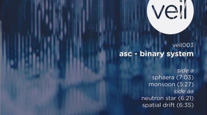 ASC - Binary System [Veil, VEIL003, 2015] Pay no mind to us, we're just a minor threat. 1