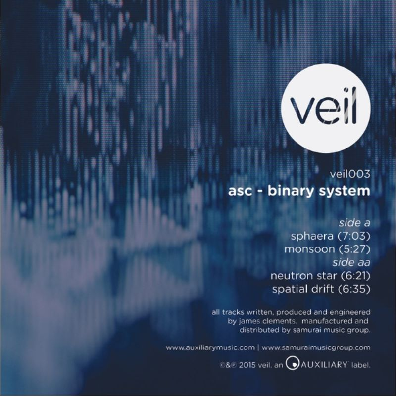 ASC - Binary System [Veil, VEIL003, 2015] | PAYNOMINDTOUS.IT 1