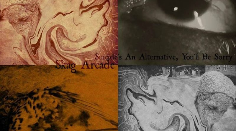 THREAT#5: Skag Arcade - Suicide's An Alternative, You'll Be Sorry Pay no mind to us, we're just a minor threat. 1