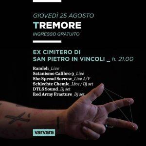 "Varvara Festival 2016 ""TRE"" @Ex-Cimitero S.Pietro in Vincoli, Turin, 25/08/16 | PAYNOMINDTOUS.IT 1"
