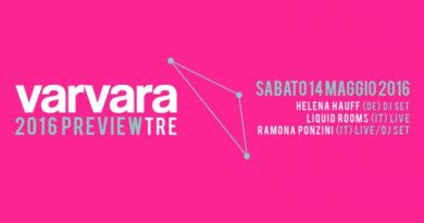 Varvara Festival Preview #1 @Superbudda, Turin, 14/05/2016 Pay no mind to us, we're just a minor threat. 1