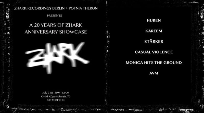 20 Years of Zhark | Anniversary Showcase @OHM, Berlin, 31/07/16 Pay no mind to us, we're just a minor threat. 1
