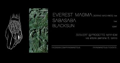 Everest Magma LIVE + SabaSaba LIVE + BlackSun DJSET @Progetto Mayhem | 30/04/17 | PAYNOMINDTOUS.IT 3
