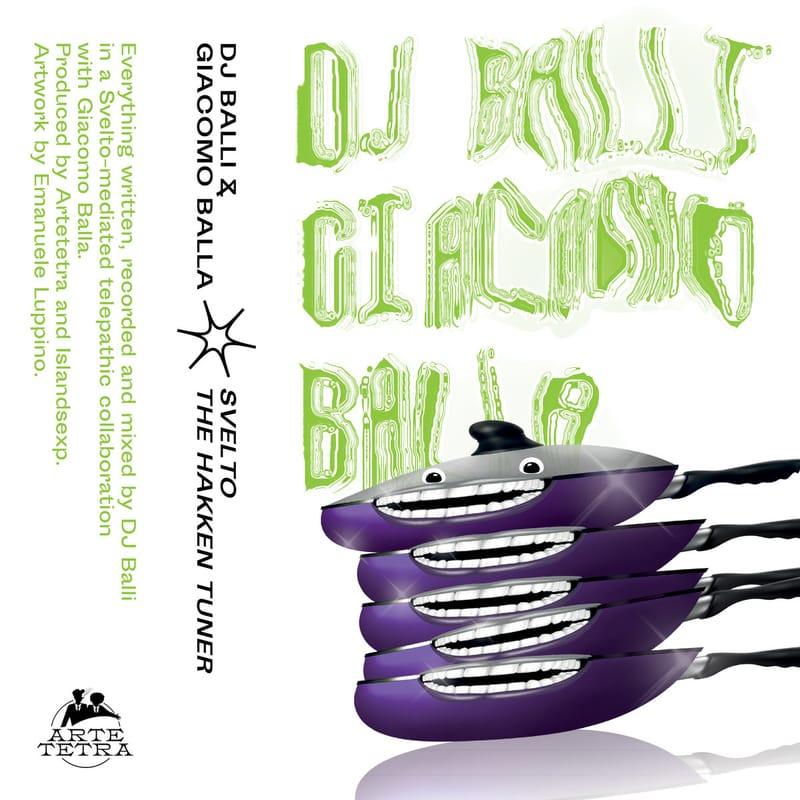 Album premiere: DJ Balli & Giacomo Balla - SVELTO, The Hakken Tuner [Artetetra] | PAYNOMINDTOUS.IT 3