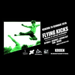 PAYNOMINDTOUS.IT Flying Kicks @Colorificio Kroen | Verona, 19/01/18 image 2